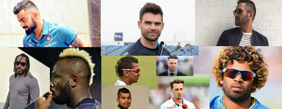 top 10 cricketers who set hairstyle trends