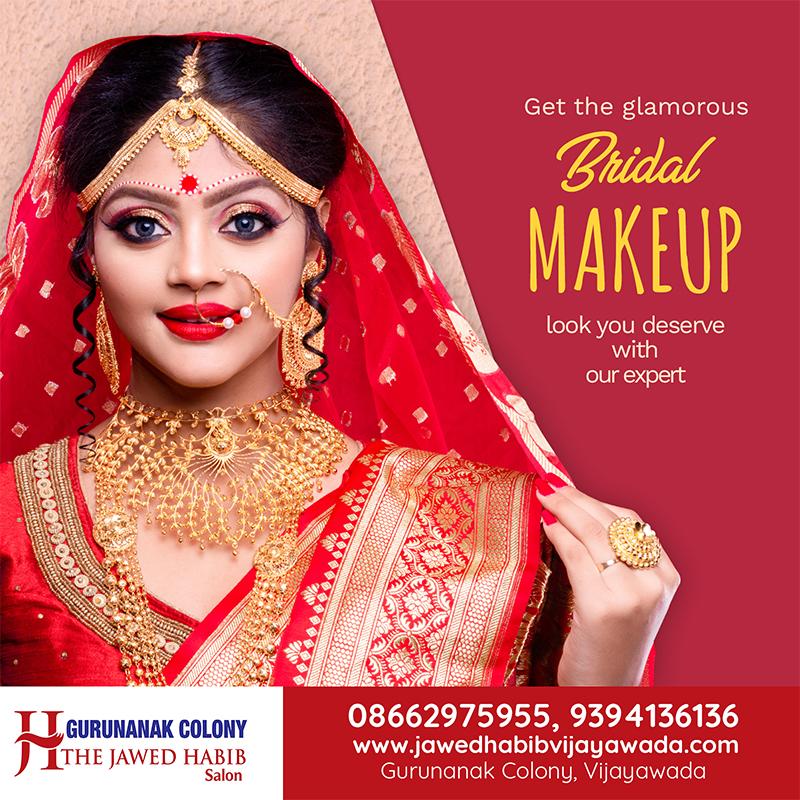 The Jawed Habib Hair Beauty Salon Gurunanak Colony Vijayawada