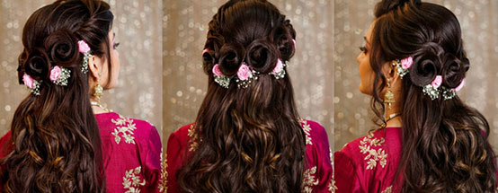 Choose Your Right Bridal Hairstyle